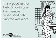 Laser Hair Removal - it's funny stuff! / www.hellosmooth.com, #laserhairremoval, #beauty, #skin, #smooth, #beachbody, #jacksonville, #florida, #bikinibody