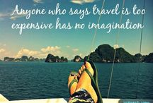 Travel Quotes / Quotes to inspire wanderlust in you.