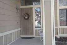 Exterior : Front porch & front doors / First impressions..