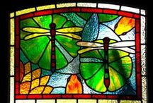 stained glass panels / by Creative Stained Glass Designs