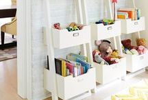 *KIDS ROOM STORAGE & SHELVING* / Kids have so much stuff! Here's a selection of some of the coolest, most stylish kids room storage solutions around. Great for kids bedrooms, playrooms and nurseries.