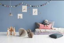 Kids Room Decor Inspiration / Images of beautifully styled children's bedrooms, playrooms  and nurseries. Use these pins to help decide how you style your child's room.