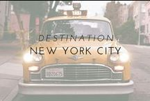 Destination | New York City / Even though I call it home, New York City is the ultimate destination. From the iconic buildings to the eclectic street style and storied neighborhoods, you discover new inspiration every time you walk out the door.