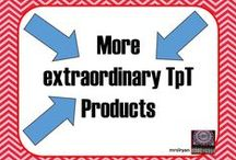 More extraordinary TpT Products / Teachers pay Teachers extraordinary products. NOTE: If you would like to join this board please send me a message. :)
