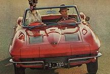 Corvette's C2 / GM Chevrolet Corvette Second Generation Series / by motocroquis