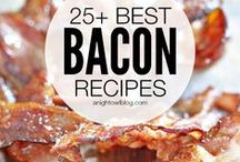All things bacon / A few exciting and innovative bacon recipes