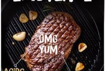 taste bud explosions / Steak, chicken and other protein rich, delicious meaty treats