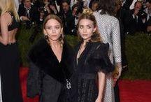 Ashley and Mary-Kate Olsen / Ashley and Mary-Kate Olsen style, fashion, and photos.