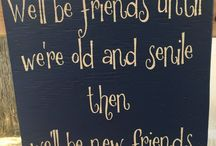 FRIENDS DIY