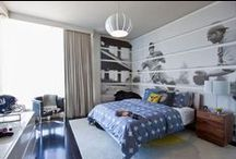 Ideas for Kids rooms / We can help you create a unique look for your kids bedrooms - baby, toddler, teenager, young adult - be inspired with these creative pics!