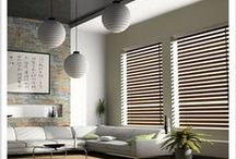 Elegant Blinds / Rollers, Romans, Timbers, Verticals, Aluminum Blinds - here is a selection of different types of interior blinds for interior windows
