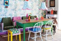 HOME Decorating Darling / Home Decor ideas for the colorful, whimsical, and funky individual.