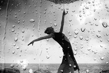 """Rain Song / """"The rain, it raineth on the just and also on the unjust fella, but chiefly on the just because the unjust steals the just's umbrella."""" - Lord Bower / by A.E. Moen"""
