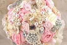 Brooch Bouquet...I Do I Do!!