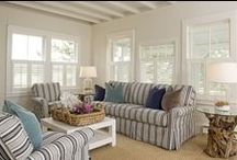 Plantation Shutters / Some inspirational pics to show how easily Plantation Shutters can be incorporated into your decor - make them the hero or the support act in a room! They are great for awkward shaped windows, for uniting different shaped windows in a room and in tight spaces. Spring Crest Curtains and Blinds can help you to achieve the right look with the use of Plantation Shutters.