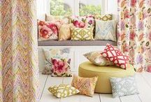 cushions / Cushions add pops of colour & interest to any room - think outside the square & mix up patterns & colours - these pics should inspire you!
