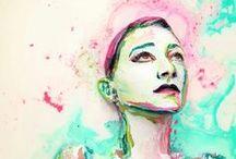 Alexa Meade / Alexa Meade paintings
