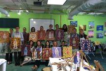 Studio Love  / Come paint with us!   2166 Briarcliff, Atlanta GA www.dipndab.com