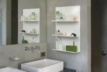 Bathroom Shelves - Home Decoration / Étagère salle de bain design TEEbooks : modernisez votre salle de bain avec les étagère design en acier TEEbooks. TEEbooks bathroom shelves, you can position them as you please, horizontally or vertically, to obtain small but very functional wall units in the bathroom.