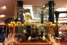 Pasqua 2014 / La Pasqua, come il Natale, è un momento unico, di festa. I nostri maestri cioccolatieri hanno deciso di renderle omaggio cosi..
