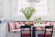 Dining nooks / Casual dining banquette style