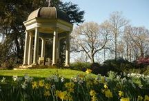 S/S AT BIGNOR PARK / Views of Bignor Park in Spring/Summer. #weddingvenue