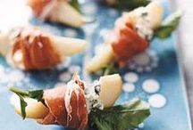 CANAPES / Wedding food appetisers/horderves/canapes.