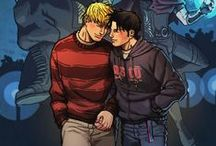 My ships / My name is Billy Kaplan...and right now, right at this moment, there's just this.And it's magic.