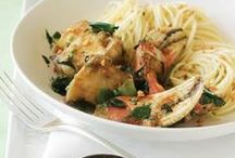 Cooking / Mmm! Check out our favorite seafood and dessert recipes!