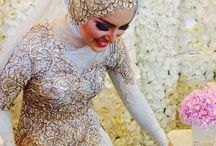 Traditional Wedding Dresses / All things Traditional...Moroccan, Malaysian... Islamic wedding wear