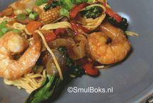 Hoofdgerecht vis/schaaldieren / Heerlijke recepten met vis/schaaldieren in de hoofdrol #recepe #fish #food