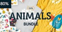 Great Graphic Bundles! / This is a collection of great Bundles with cute graphic and font for crafters, designers or other creatives!