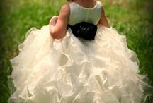 Flower Girl Dresses / by A Forever After Wedding Rev. Patricia Borsum