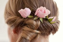 Brides hair pieces  / Brides I hope that I will give you some ideas for your hair that will be unique and personal.   Have fun designing your special look / by A Forever After Wedding Rev. Patricia Borsum