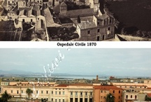 YESTERDAY AND TODAY IN THE WORLD / I studied the history of Cagliari from 1500 to the present day through the images, comparing between the images of the past and present to understand the reasons for change. Now, I want to see the changes of other cities through the eyes of those who have done the same job. This I propose to you ...