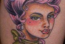 Laura Exley: Tattoos & Artwork