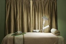 Treatment Rooms / Treatment room ideas and inspiration for massage therapists, estheticians, chiropractors, or spa owners and anyone creating a tranquil and lovely environment!