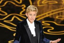 Ellen DeGeneres / Ellen DeGeneres is an amazing person. She's funny and have some inspiring quotes. She's also brave to share that she's gay. She's one of my inspiring mentors. / by Sting Eucliffe
