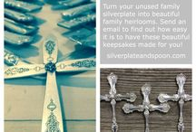 Silver Creations / Beautiful hand-made works from vintage silverplate.