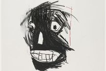 The Unknown Notebooks of Jean-Michel Basquiat / Drawings