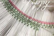 SMOCKING AND SEWING