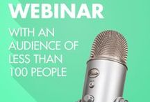 Webinar Tips / webinar tips, webinar, how to have a webinar, host a webinar, blog, business,