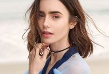 •Lilly Collins•