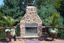 Outdoor Fireplaces and Pits / Fireplaces, Firepits