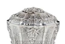 Silver Charity Boxes