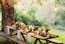 Styling: Tablescapes / Beautiful table styling ideas for our brides!