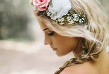 "Styling:: Wedding Hair + Makeup / there's no definitive ""look"" for a wedding--find your own and own it!"