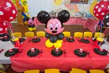 Lucas' Mickey Mouse Party