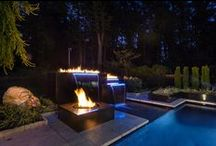 New Water Feature and Fire Feature / Pool
