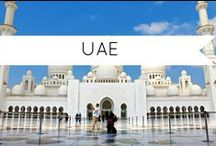 // UAE TRAVEL / Planning a trip to the UAE? Check out these articles & photos to find the best guides, itineraries, tips, museums, views, fun facts + more!